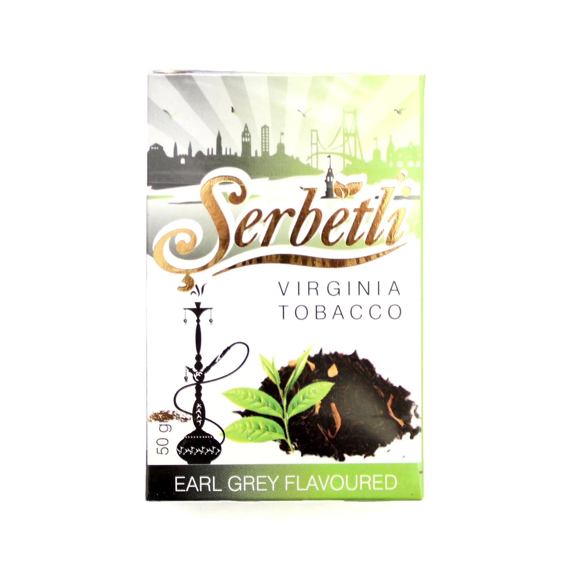 Табак для кальяна Serbetli Earl Grey 50 гр.