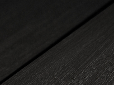 Террасная доска SW Salix (S) - радиальный распил. Цвет черный.