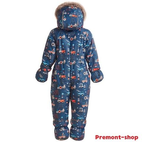Комбинезон Premont Зима Машинки Бьюмонт WP92061 Blue