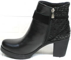 Ботинки ботильоны Lady West 1343 101 Black