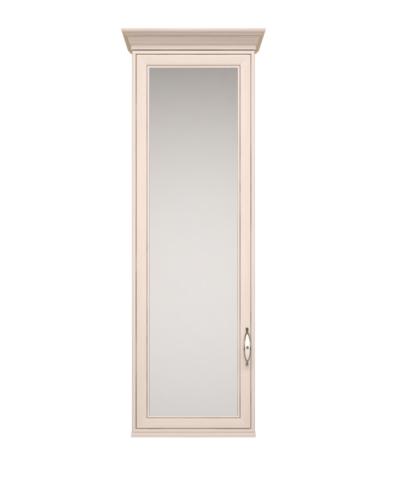 Шкаф навесной Венеция 28 с зеркалом Ижмебель бодега светлая