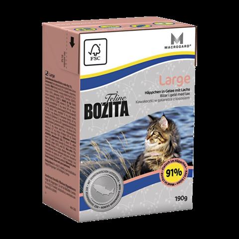 Bozita Tetra Pak Funktion Large Консервы для кошек крупных пород (кусочки в желе)