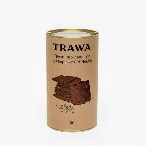 TRAWA, Сладкие гречишные крекеры от нутрициологов Get Health, 160гр