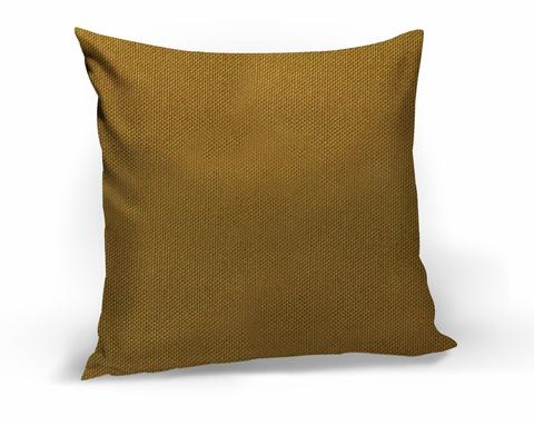 Подушка декоративная Адриана горчичный
