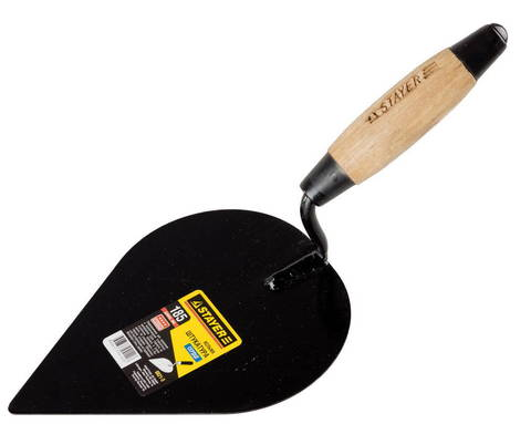 Кельма штукатура STAYER с деревянной усиленной ручкой КШ
