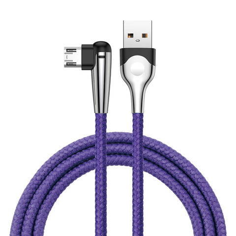 Кабель Baseus sharp-bird mobile game cable USB For Micro 2.4A 1M Bluecro 2.4A 1M Blue