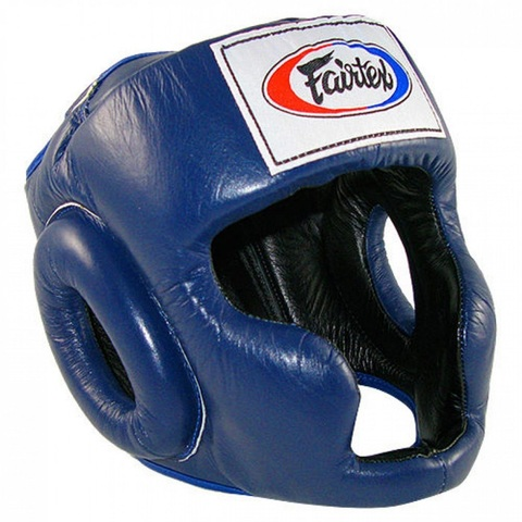 Шлем Fairtex Headguard HG3 Blue