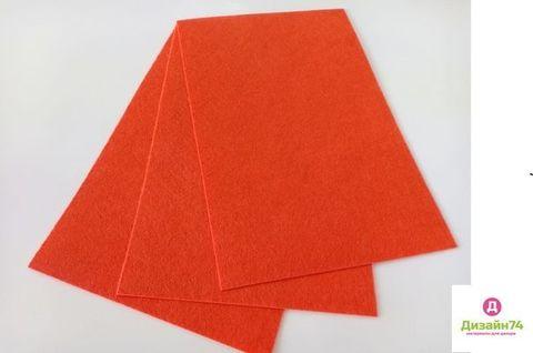 Фетр 20x30,  жесткий,  толщиной 1 мм Цвет №14