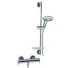 Душевая система с термостатом и тропическим душем для ванны DRAKO 339303AS - фото №1