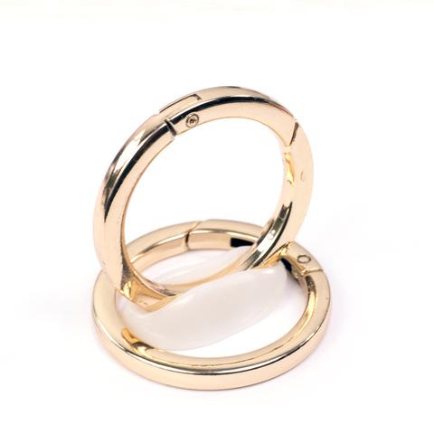 Карабин-кольцо плоское 38мм  (цвет на выбор)