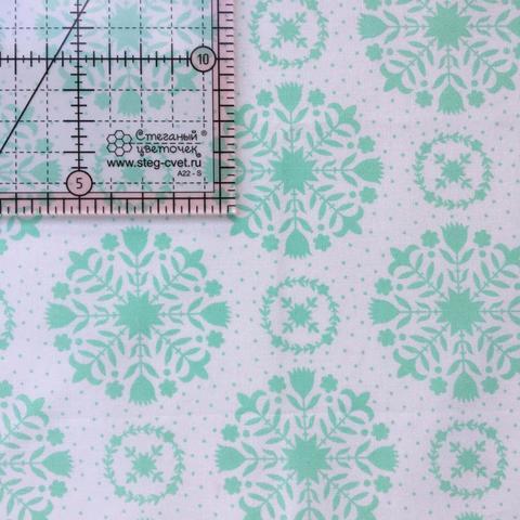 Ткань для пэчворка, хлопок 100% (арт. M0508)