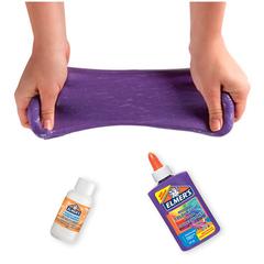 Клей для слайма Elmer's Color Glue фиолетовый яркий 147 мл