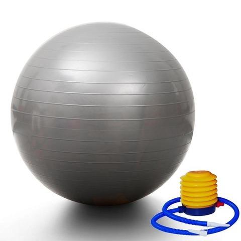 Yoqa-pilates topu \ Мяч для йога-пилатеса \ Yoga-pilates ball 75 sm silver