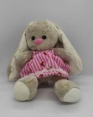 Yumşaq oyuncaq çəhrayı donlu dovşan