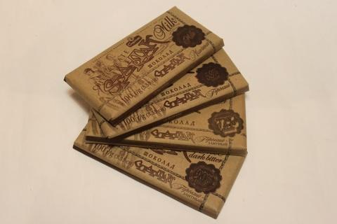 Спартак шоколад 90 г (56%, 72%, 90%, молочный)