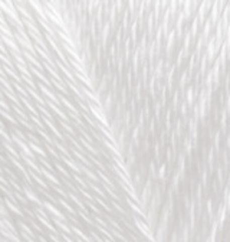 Пряжа Diva Plus Alize 1055 белый
