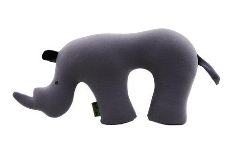 Подушка-подголовник Gekoko «Носорог»