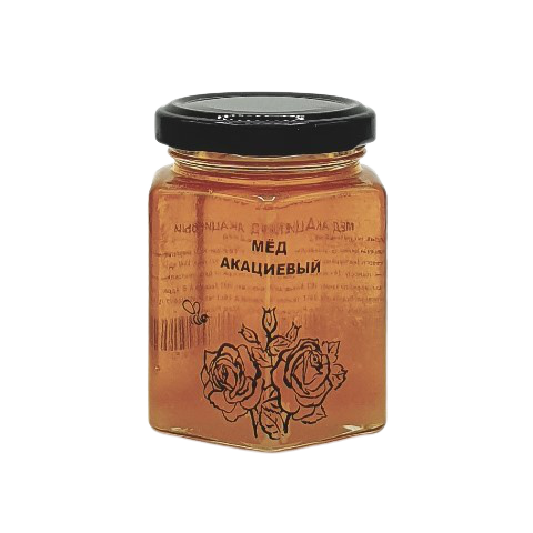 Мёд натуральный АКАЦИЕВЫЙ, 250 гр