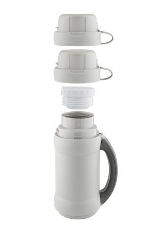 Термос Thermos 34 серия (0,5 литра) стеклянная колба, белый