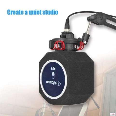 Акустический студийный поп-фильтр Alctron PF8 куб