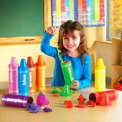LER3070 Набор для сортировки Радужные карандаши Learning Resources