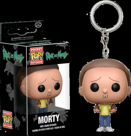 Брелок Морти - Рик и Морти || POP! Keychain Morty - Rick & Morty