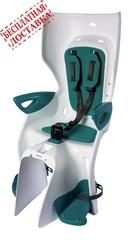 Велокресло Bellelli  Summer Standard B-Fix White/Turquoise, крепление к подседельной трубе