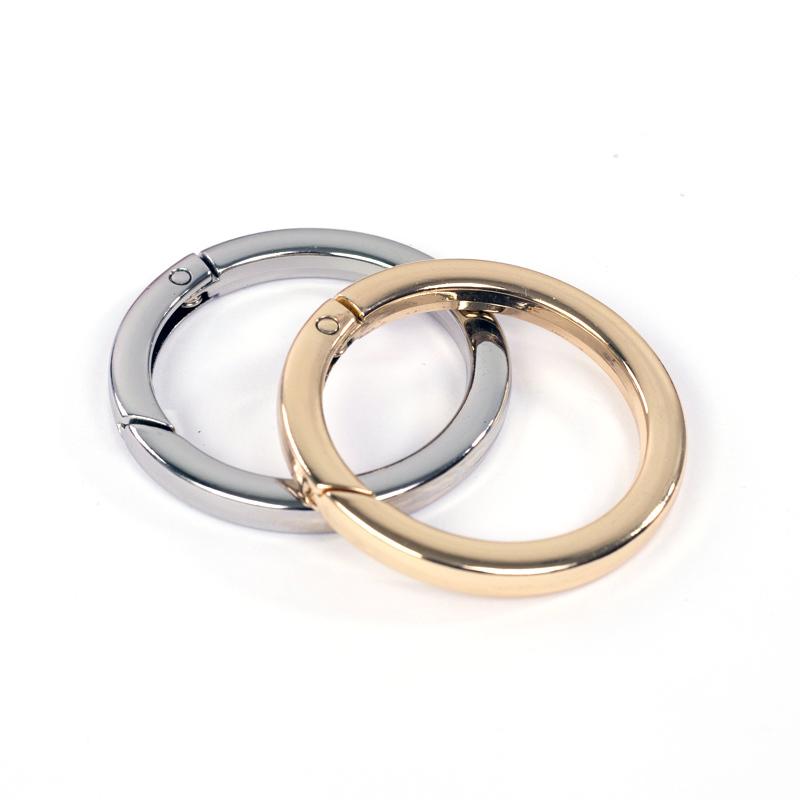 """Цвет """"Золото"""" Карабин-кольцо плоское 38мм  (цвет на выбор) IMG_7267.jpg"""