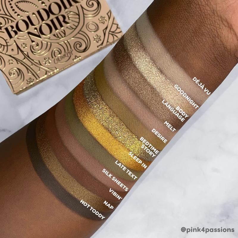 ColourPop Boudoir Noir palette