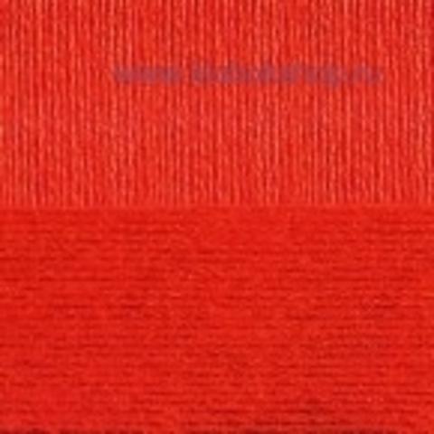 Пряжа Вискоза натуральная Пехорский текстиль Красный 06