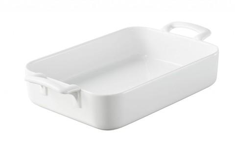 Прямоугольная фарфоровая форма для запекания белая, артикул 616952, серия Belle Cuisine