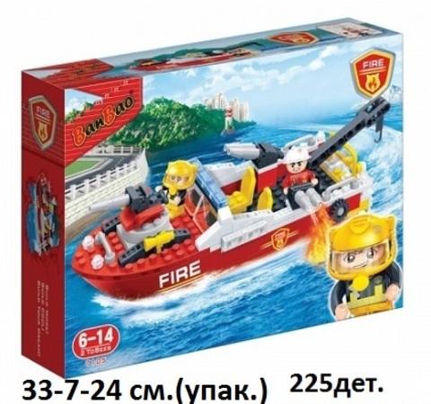 Конструктор 7105 пожарн. катер 225 дет. Ваn Bao