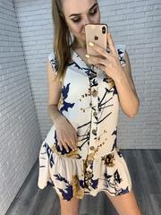 простое летнее платье nadya