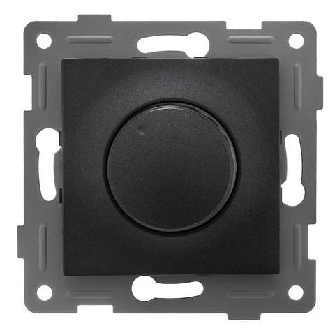 Светорегулятор/диммер поворотный 500 W 220/250 В~. Цвет Графит. Bravo GUSI Electric. С10Д6-010