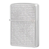 Зажигалка ZIPPO Diamond Plate Satin Chrome (205 Diamond Plate)