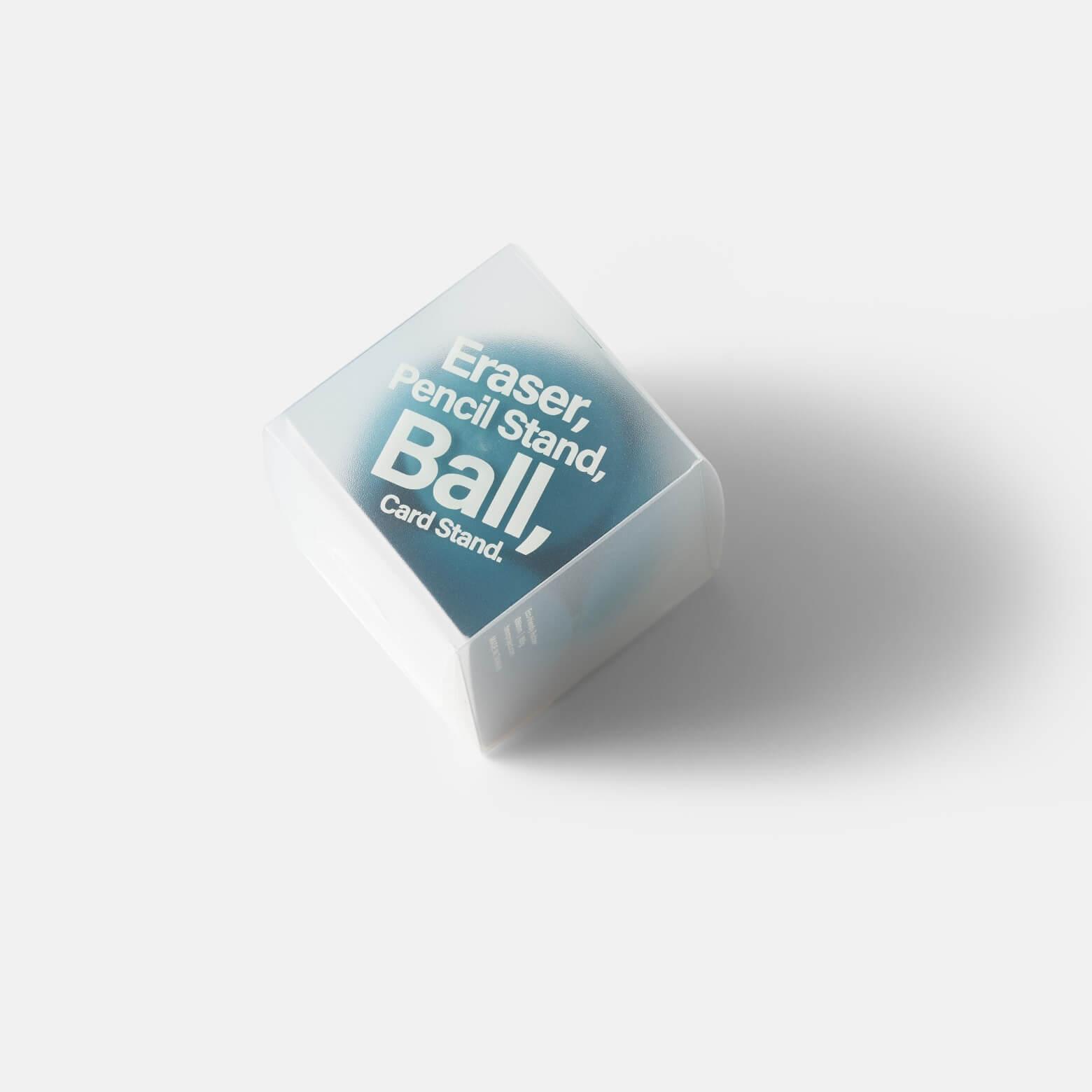 HMM Eraser Ball — ластик-подставка: голубой
