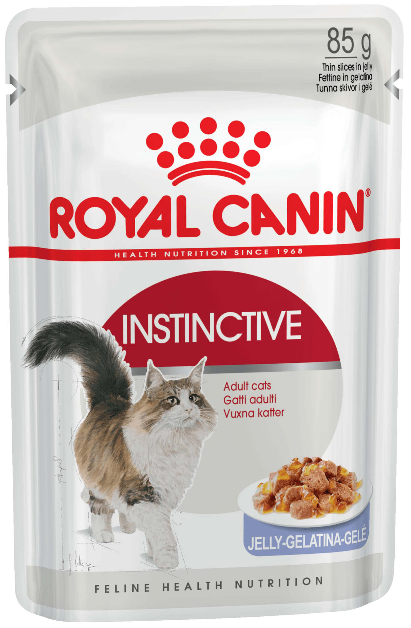 Влажные корма Пауч для кошек в возрасте от 1 года до 7 лет, Royal Canin Instinctive (в желе) d_instinctive-in-jelly.png