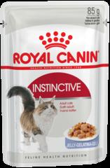 Пауч для кошек в возрасте от 1 года до 7 лет, Royal Canin Instinctive (в желе)