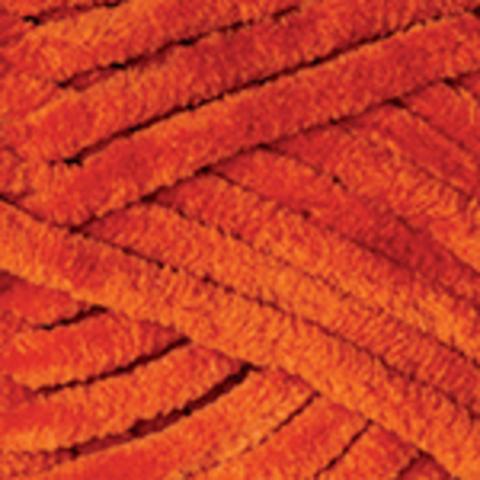 Пряжа YarnArt Dolce цвет 778 (темно-оранжевый)