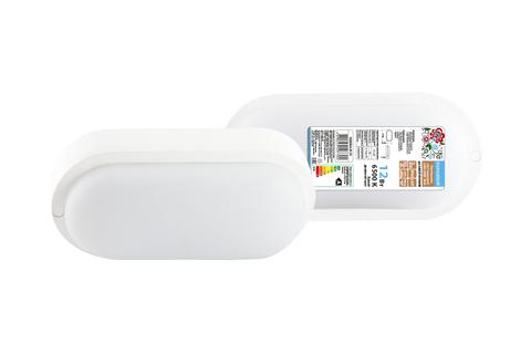 Светодиодный светильник LED ДПП 3801 12Вт 6500К IP65 белый овал 177*85*57 мм Народный