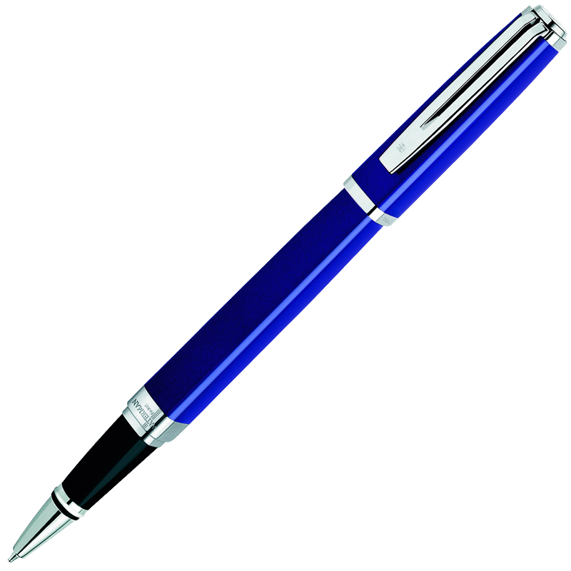 Waterman Exception - Blue ST Slim, ручка-роллер, F, BL