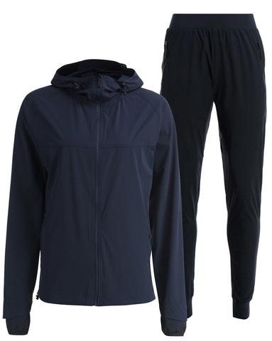 Женский беговой непромокаемый костюм Gri Джеди 2.0 темно-синий