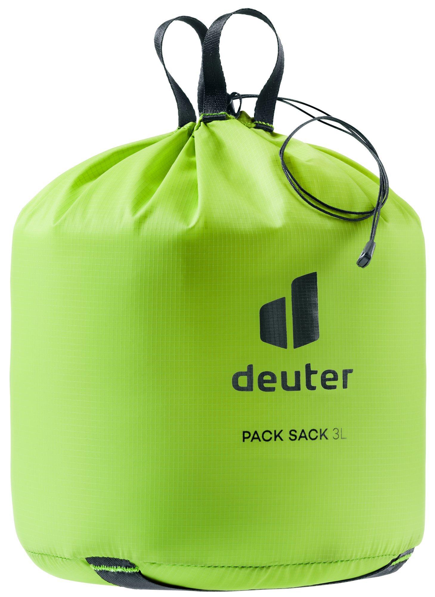 Чехлы для одежды и обуви Упаковочный мешок Deuter Pack Sack 3 (2021) 3941021-8006-PackSack3-w20-d0.jpg