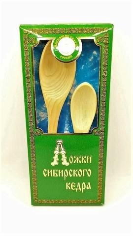 Набор ложек из Сибирского кедра