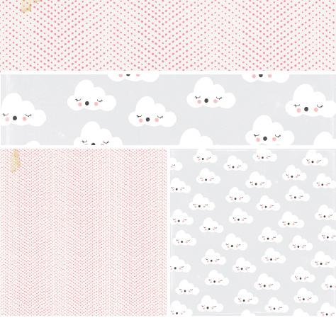 Лист двухсторонней бумаги 30*30 см Little you by Crate Paper