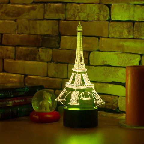 3D светильник Эйфелева башня