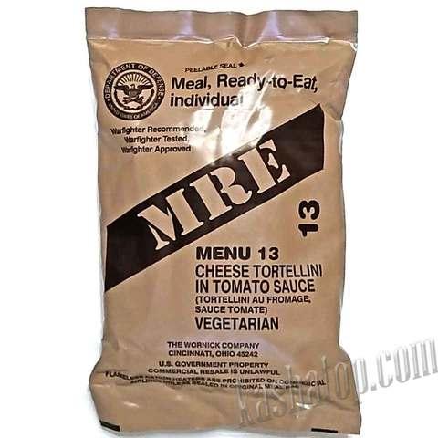 Американский сухой паёк (MRE) - Meal, Ready-to-Eat