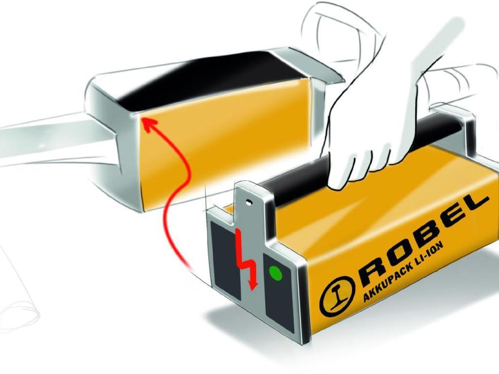 Ручной аккумуляторный ударный гайковерт Robel 30.20 сменный акумулятор