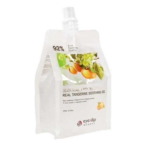 гель для лица и тела с экстрактом мандарина Natural And Hygienic Real Tangerine Soothing Gel, 300 мл