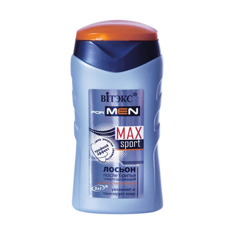 Витекс FOR MEN MAX Sport Лосьон после бритья для всех типов кожи 150мл